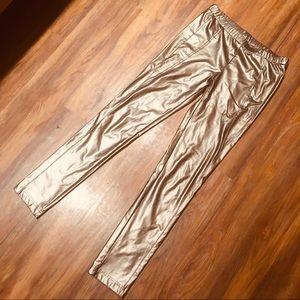 Bronze leggings